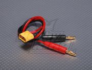 Charge Cable w/ Male XT60 <-&gt; 4mm Banana plug