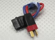 PowerBox Adapter wire MPX Female - Deans Male 2.5mm wire 10cm
