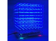 3D 8X8X8 LED Music MP3 DIY Kit w/3mm Perspex Case (US Warehouse)