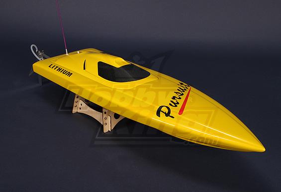 Pursuit Brushless V-Hull R/C Boat (820mm) w/Motor in Hobbyking