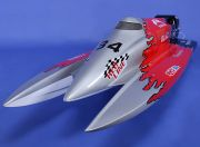 SCRATCH/DENT - F1 26CC Tunnel-Hull Racing Boat 1320mm E1.1.0.0 (UK Warehouse)