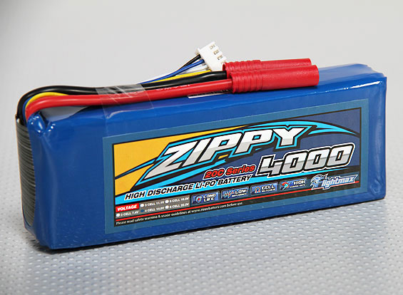 ZIPPY Flightmax 4000mAh 4S1P 20C (AU Warehouse)