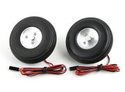 "Turnigy Electric Magnetic Brake Wheels (No Controller) 72mm (2.9"") Wheel (2pc)"