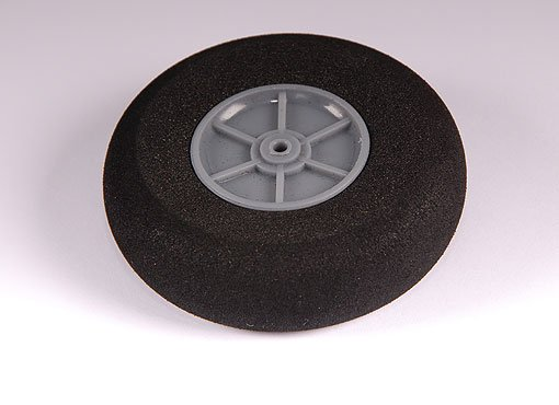 Light Foam Wheel (Diam: 80, Width: 25mm) (UK Warehouse)