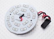 Red 16 LED Circular Light Board with Lead (AU Warehouse)
