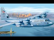Italeri 1/72 Scale C-130J Hercules Plastic Model Kit