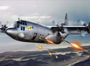 Italeri 1/72 Scale AC-130H Spectre Plastic Model Kit