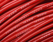 Turnigy Pure-Silicone Wire 16AWG (1mtr) Red (EU warehouse)
