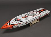 Smash Shark Fiberglass Offshore Brushless Racing Boat w/Motor (840mm) (EU Warehouse)