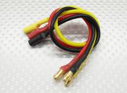 3.5mm Male/Female Bullet Brushless 16awg Motor Extension Lead 200mm (UK Warehouse)
