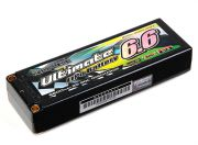Turnigy nano-tech Ultimate 6600mah 2S2P 90C Hardcase Lipo Pack (ROAR & BRCA Approved) (UK Warehouse)