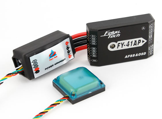 FY-41AP Auto-Pilot/ Flight Controller with OSD, GPS and Power Manager