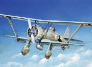 Italeri 1/48 Scale Henschel HS-123 A-1 Plastic Model Kit