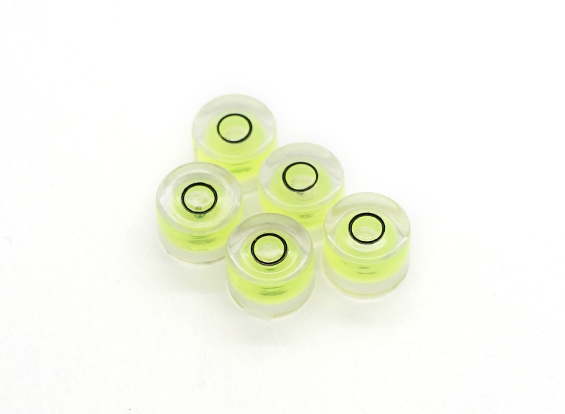 6mm Diameter Spirit Level (5pcs) (AU Warehouse)