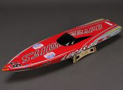 OuterLimits Fiberglass Offshore Brushless Racing Boat w/Motor (870mm) (AR Warehouse)