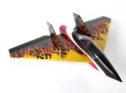 Delta Rocket High Speed Wing - Black 640mm (ARF) (EU Warehouse)