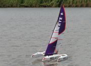 Skate 1000 Trimaran Sailboat 1700mm (ARS - Almost Ready to Sail) (UK Warehouse)