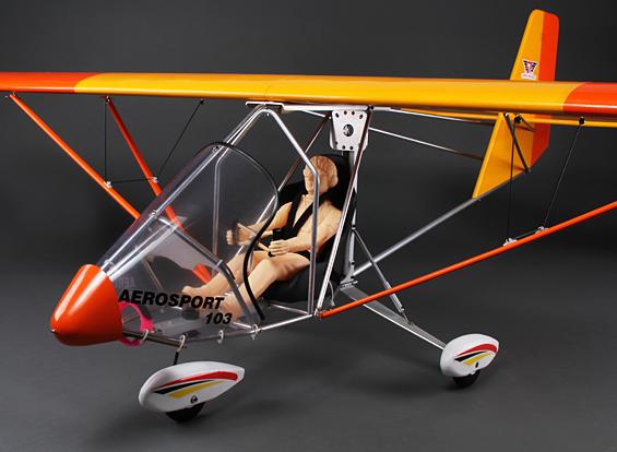 Aerosport 103 Gp Ep Scale Ultralight Balsa 2390mm Arf