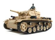 Tauch Panzer III Ausf.H RC Tank RTR w/ Airsoft/Smoke & Tx (US plug) (AR Warehouse)