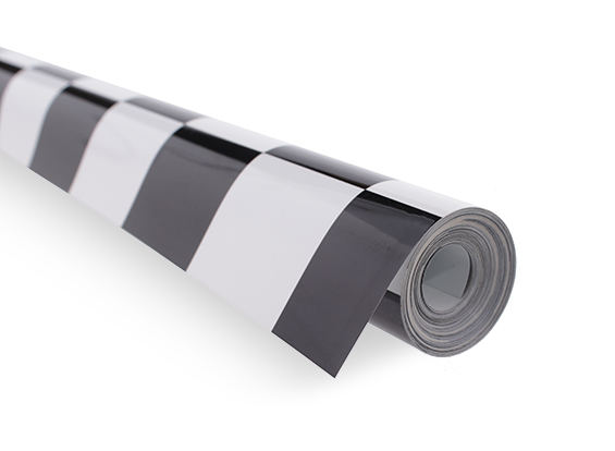 Covering Film Grill-Work Black/White (5mtr) 402 (US Warehouse)