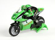 Allegro Micro Sport Bike 1/20th Scale Motorcycle (RTR) (Green) (UK Warehouse)