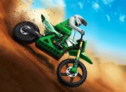 Super Rider SR4 1/4 Scale Brushless RC Motorcycle (ARR) - Green (AU Warehouse)