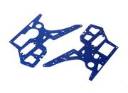 Side Panels(Blue) - Super Rider SR4 SR5 1/4 Scale Brushless RC Motorcycle