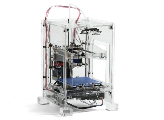 Fabrikator Mini 3D Printer - V1.5 - Transparent - EU 230V ...