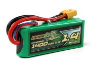 MultiStar Racer Series 1400mAh 3S 65C Lipo Pack For FPV Minis (Gold Spec) (AR Warehouse)