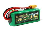 MultiStar Racer Series 1400mAh 4S 65C Multi-Rotor Lipo Pack (Gold Spec) (AR Warehouse)