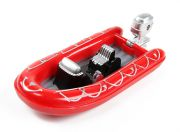 1/50 Scale Toy Boat (Red)