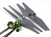 MultiStar 350 to 450 Frame Size 2212 Combo Set With Self-Tightening Propellers CW/CCW (EU Warehouse)