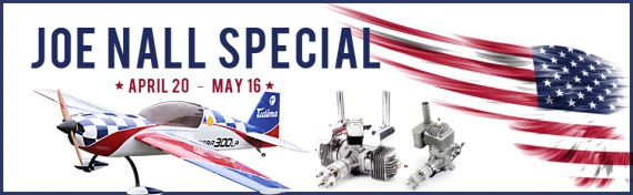 AGM Hobby Joe Nall Special Offers