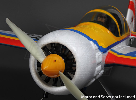 Hobbyking Monster Yak-54 3D 1500mm V2 EPO KIT