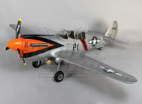 P-40N Giant Scale w/flaps & retracts 1700mm EPO Silver (ARF)
