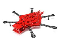Scarab V3 550 FPV HexaCopter With Isolated Cam Mount And FR4 and CNC Alloy Construction (KIT)